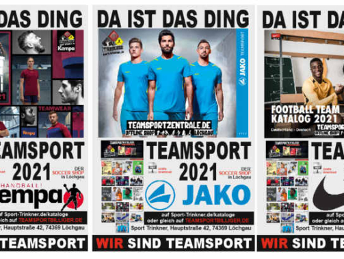 Teamsport Kataloge 2021