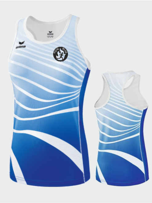 ERIMA Singlet Women Team-Blau