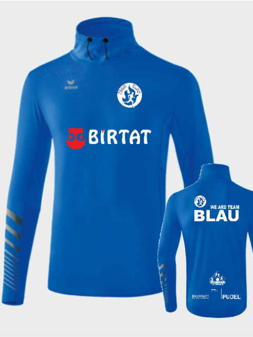 ERIMA Longsleeve Men Team-Blau